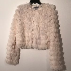 Lightweight Shaggy Jacket